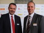 Il CEO di RHIAG Christoph Kissling (s.) e il direttore marketing Roger Hunziker.