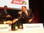 Lodato e omaggiato: Charles Blättler, ex Presidente della direzione ESA