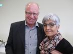 Il garagista Martin Zimmermann e sua moglie Esther: la sua azienda è comproprietaria ESA da 49 anni.