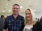 Roger Meier di Auto Hebler AG con la sua compagna Priska Hurni: stima l'ESA perché fornisce praticamente qualsiasi prodotto.