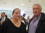 Rolf Döbeli di Garage Döbeli con sua figlia Hanna: apprezza l'ESA quale fornitore principale.
