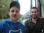 """Silvan Züger e Fabio Stadler di Züger Rep. Werkstatt di Flüelen: apprezzano il """"servizio eccellente"""" dell'ESA."""