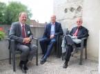 La quiete prima della tempesta: Kurt Pfeuti, Markus Christen e Heinz Kaufmann dell'UPSA.