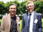 Tema successione: Albin Rüeger della Auto Rüeger AG e Peter Baschnagel della E. Baschnagel AG.