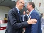 Sempre vicino al cliente: il CEO di ESA Giorgio Feitknecht (a sinistra).