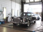 Eleganza senza tempo: la Mercedes 280 SE 3.5 Cabriolet di proprietà della famiglia.