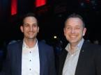 Marc Kessler, CEO di Quality1, con Olivier Maeder dell'UPSA.