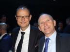 Giorgio Feitknecht, CEO di ESA, e il direttore di auto-schweiz Andreas Burgener.