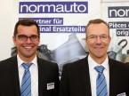 Almir Prusevic e Andreas Eberhard (Normauto): «Possiamo accogliere personalmente i nostri clienti e spiegare loro i nessi.»