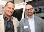Nico Schmid e Christian Filomeno (Osram): «Qui l'accesso al gruppo target è diretto; così riusciamo a sentire il polso del mercato.»